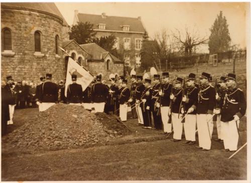 1965: Begrafenis met schutterseer van ere-voorzitter Willem Weerts