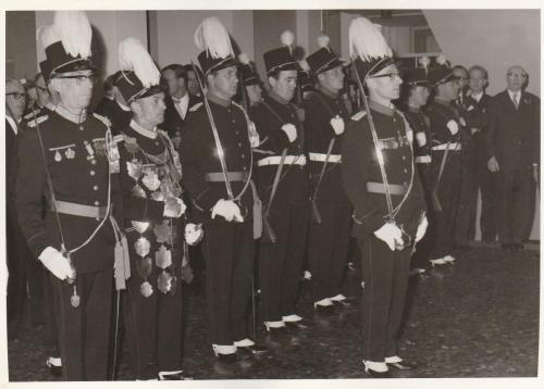 1967: Geboorte koningszoon Willem Alexander gemeentehuis Valkenburg