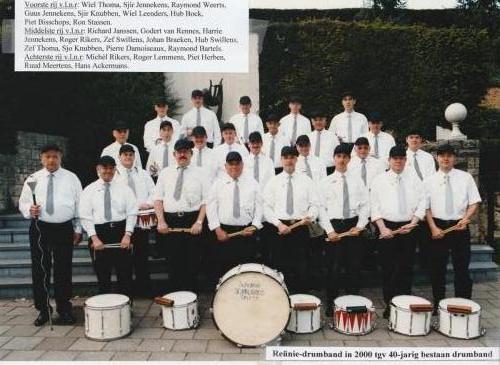 2000: Reünie drumband Strucht