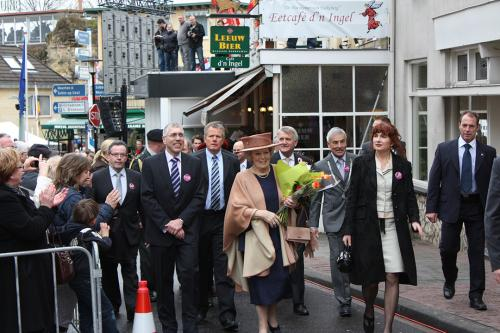 26 maart 2010: erehaag Beatrix